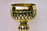 C20. Brass and gilded brass Chalice.